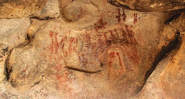 Göktepe kaya resmi. Fotoğraf: radikal.com.tr
