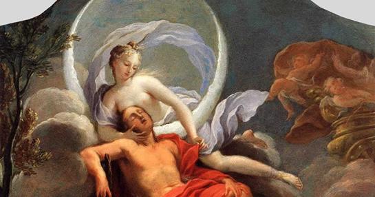 Selene ve Endymion, Flippo Lauri, 1650. Fotoğraf: arkeorehber